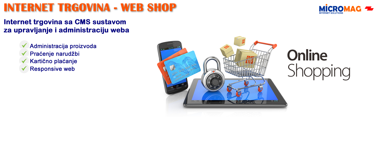 Internet trgovina web shop